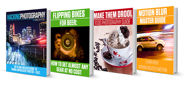 hacking photography book covers