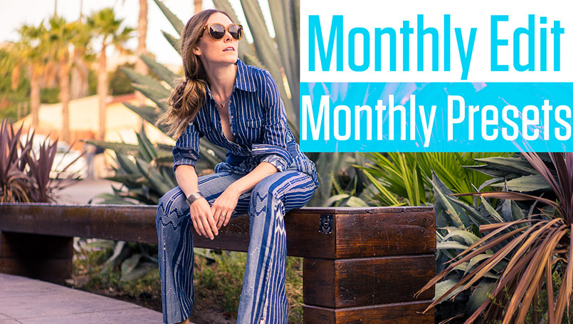 Lightroom Training Monthly Edit Membership