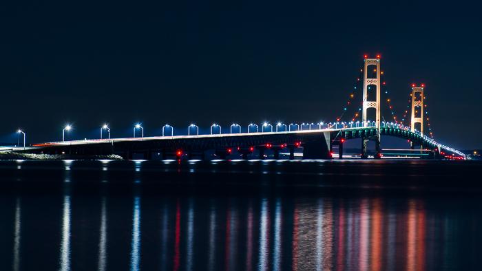 Mackinaw Bridge, photography, backup, tips, tutorials